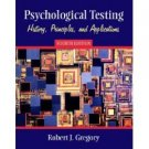 Psychological Testing 4th by Robert J. Gregory 0205354726