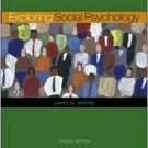 Exploring Social Psychology 4th by David Myers 0073228877