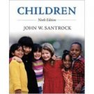 Children 9th by John Santrock 0073228745