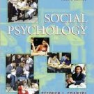 Social Psychology 4th by Stephen L. Franzoi 0073191833