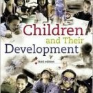 Children and Their Development 3rd by Robert V. Kail 0131829769