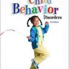 Casebook in Child Behavior Disorders 3rd by Christopher A. Kearney 0534512720