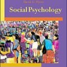 Social Psychology 8th by David Myers 007291694X