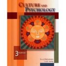Culture and Psychology 3rd by David Matsumoto 0534535917