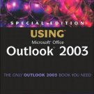 Special Edition Using Microsoft Office Outlook 2003 by Patricia Cardoza 0789729563