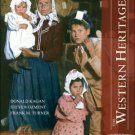 The Western Heritage: 9th edition Volume 2 by Donald Kagan 013173346X