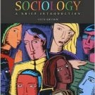 Sociology 5th by Richard T. Schaefer 0072824131