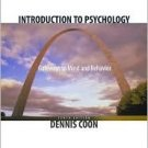 Introduction to Psychology 10th by A. D. Vandenter 053461227X