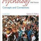 Psychology: Concepts and Connections 3rd by Spencer Rathus 0534612369