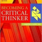Becoming a Critical Thinker by Vincent Ruggiero 0618527834