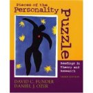 Pieces of the Personality Puzzle 3rd by David C. Funder 0393979970
