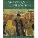 Western Civilization: The Continuing Experiment 4th by Thomas F. X. Noble 0618420924