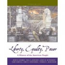 Liberty, Equality, and Power: A History of the American People 4th by John M. Murrin 0534627307