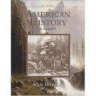 American History 11th by Alan Brinkley 0072936703