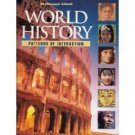 World History: Patterns of Interaction by Roger B. Bech 0618108238