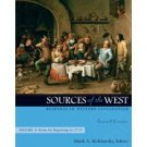 Sources of the West: Readings in Western Civilization 7th Volume I by Kishlansky 0205568394