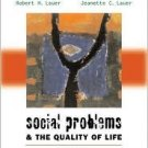Social Problems and the Quality of Life 9th by Lauer 007282249X
