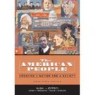 The American People Creating a Nation & a Society From 1863 by Nash 0321316401