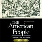The American People, 4th Vol. 1, Chapters 1-16 by Nash 0321094328