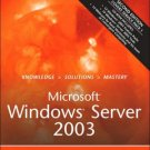 Microsoft Windows Server 2003 Unleashed 2nd by Rand Morimoto 0672326671