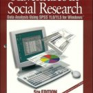 Adventures in Social Research 5th by Earl Robert Babbie 0761987584