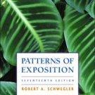 Patterns of Exposition 17th by Robert A. Schwegler 0321146166