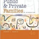 Public and Private Families 4th by Andrew J. Cherlin 0072873590