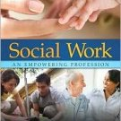 Social Work: An Empowering Profession by Brenda L. Dubois 0205504833