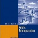 Introducing Public Administration 5th by Jay M. Shafritz 0321439430