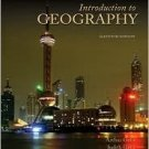 Introduction to Geography 11th by Getis 0073256498