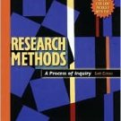 Research Methods: A Process of Inquiry 6th by Anthony M. Graziano 0205484751