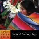 Cultural Anthropology 11th by Conrad Phillip Kottak 0073138754