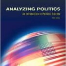Analyzing Politics 3rd by Ellen Grigsby 0534630774