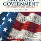 American Government 2006: Continuity and Change / Edition 8 by Karen O'Connor 0321209184