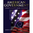 American Government 2002 by Karen O'Connor 0321086740