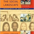 Mapping the Social Landscape 5th by Susan J. Ferguson 0073528072