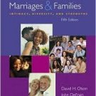 Marriages & Families 5th by David H. Olson 0073209511