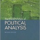 The Essentials of Political Analysis 2nd by Philip H. Pollock 1568029977