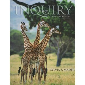 Inquiry Into Life 11th edition by Sylvia S. Mader 0072421975