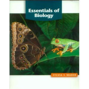 Essentials of Biology [Paperback] Sylvia S. Mader 0072886161