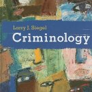 Criminology - 10th Edition  by Larry J. Siegel 0495391026