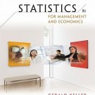 Statistics for Management and Economics 8th Ed by Gerald Keller 0324653379