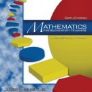 Mathematics for Elementary Teachers A Conceptual Approach 6th ed by Albert B. Bennett 0072532947