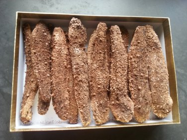 Dried Sea cucumber-Giant Red Sea Cucumber -5lbs