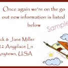 Just Moved Moving Announcements Personalized Cards House On Shooting Arrow