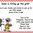 Bar-B-Que invitations
