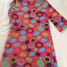 JKhaki,Toddler Girts, Dress Size Small (4/5), PinkPastel  Polka Dot