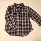 Chaps, Toddler Boys, Size 3T,  Blue/White/Green Plaid w/ Yellow emblem