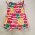 Old Navy,Infant Girls, One Piece,  Size 3-6 months, White w/ Pastel Floral Print