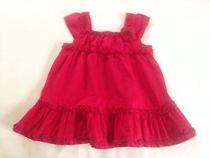 Gymboree, Toddler Girls, Dress,  Size 4T, Red, Ruffled Design